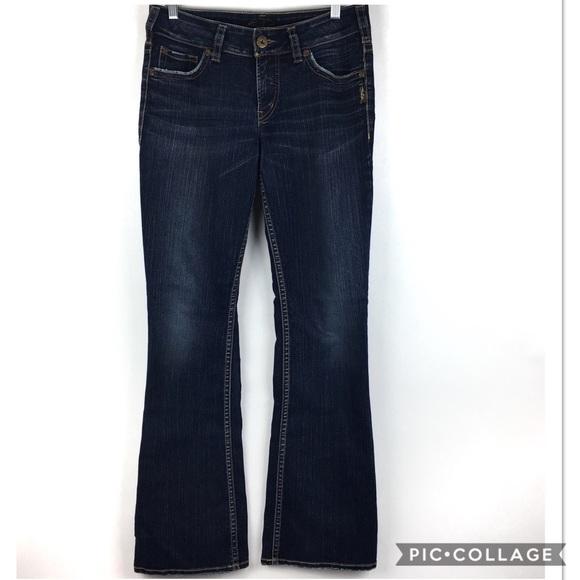 44d6f8dd629 Silver Suki Dark Wash Bootcut Jeans Size 29. M 5b9d320812995513f8d7193f
